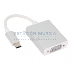 Adaptador USB Type-C macho...